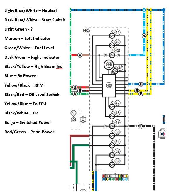 07 yamaha r1 wiring diagram 01 yamaha r1 wiring diagram pin outs for r1 clocks